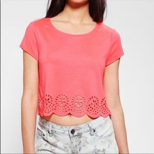 Anthropologie Pins and Needles size M crop top